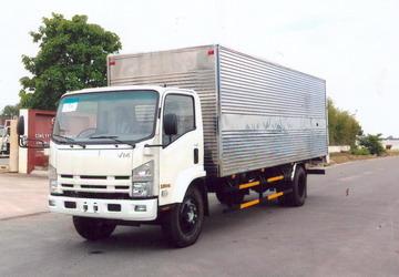 Isuzu Vĩnh Phát FN129L4 thùng kín Euro 4