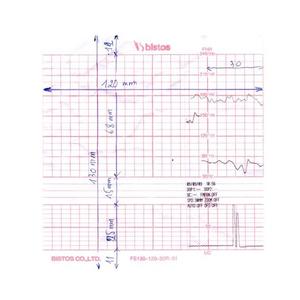 Giấy monitor sản khoa Bistos BT-300, FS130-120-30R (130x120x300)