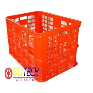 Thùng nhựa hở HS005 - SH