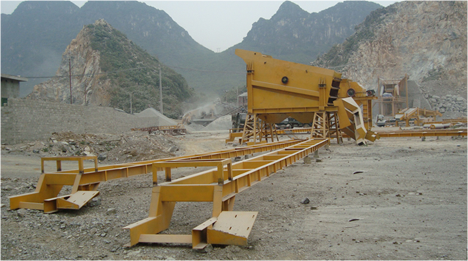 Máy nghiền đá 150 tấn/giờ