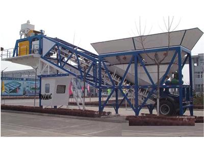 Trạm trộn bê tông di động 20 - 60 m3/giờ