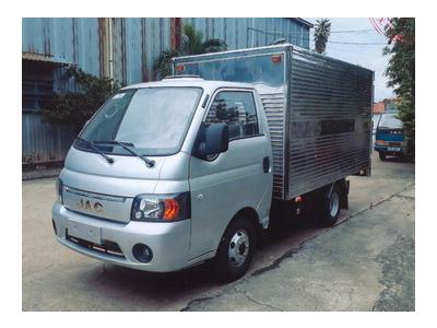 Xe tải JAC 1,25 tấn thùng kín Euro 4 - JAC 1025/X125 TK