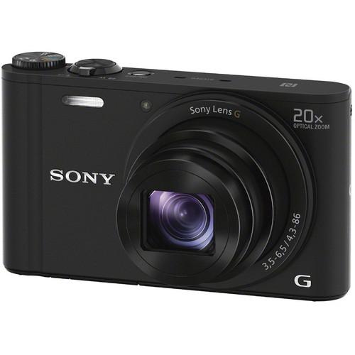 Máy ảnh Sony Cyber-shot DSC-WX350 Digital Camera (Black)
