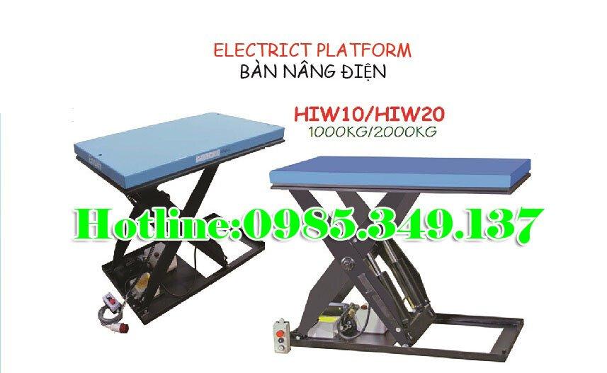 Bàn nâng điện HIW20- 2 TẤN