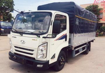 Đô Thành IZ65 thùng bạt, tải 2,2 tấn Euro 4