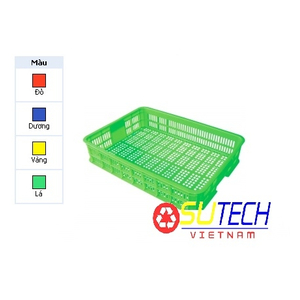 Thùng nhựa hở HS008 - SH