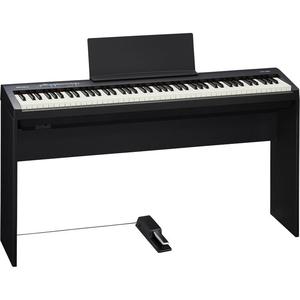 Roland FP-30 Digital Piano (Black), bàn, ghế, pedan, khăn phủ
