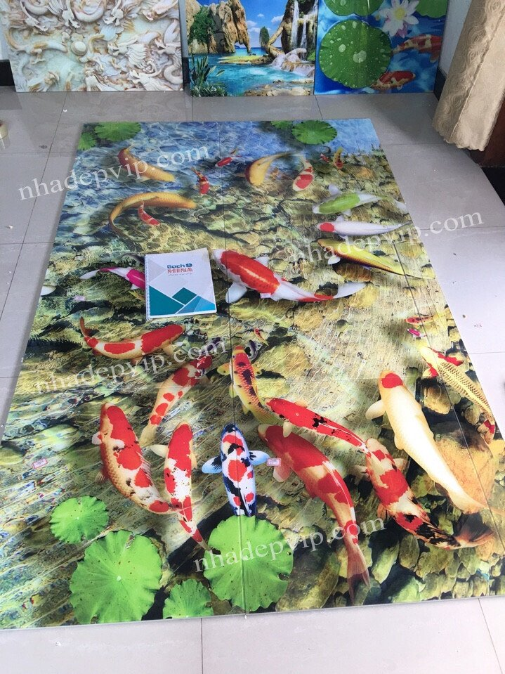 Mẫu cá Koi Phú Nhuận