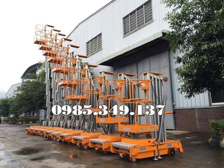 Xả bán Xe Thang nâng người 10m, Thang nâng đơn GTWY10-100 GIÁ RẺ