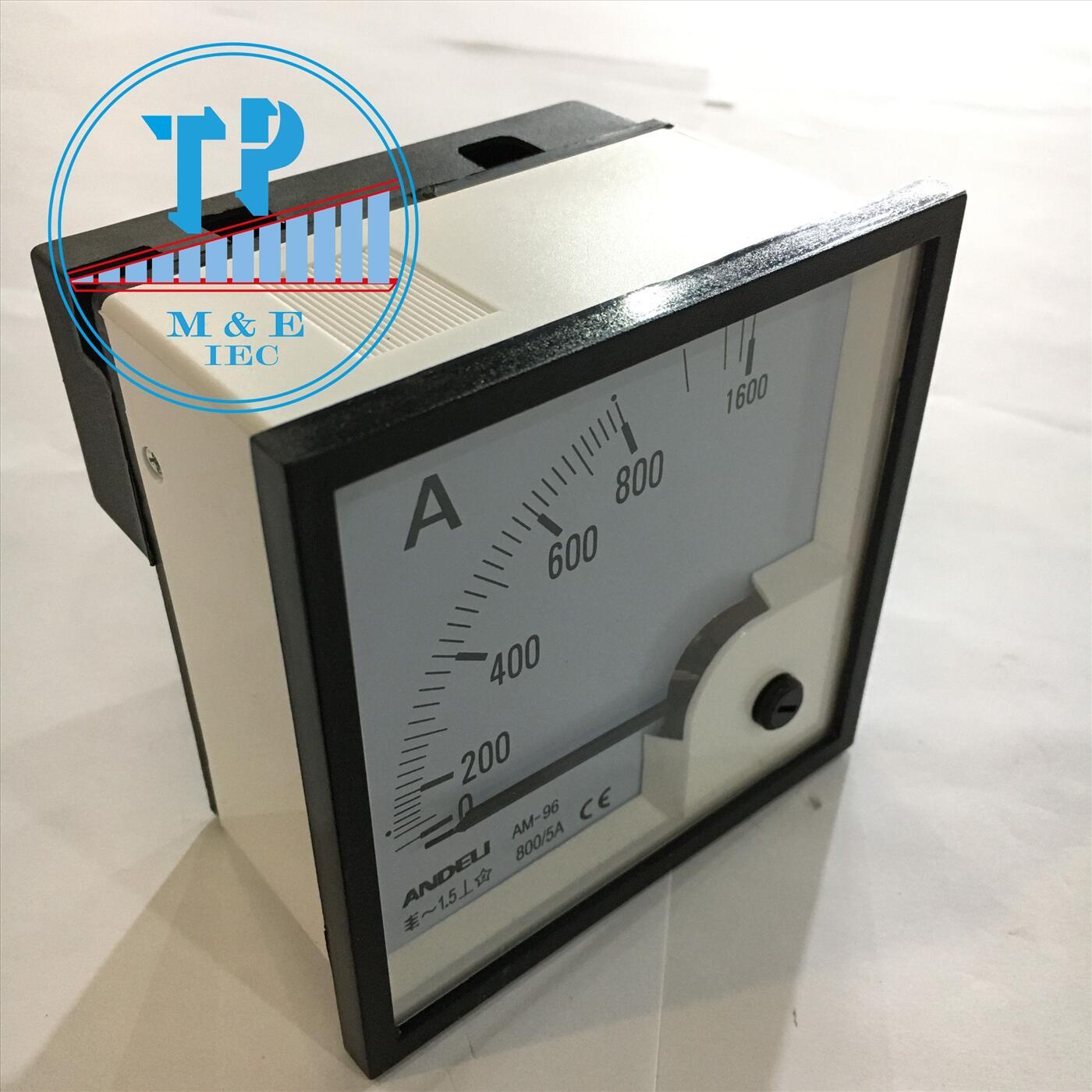Đồng hồ Ampe 800/5A