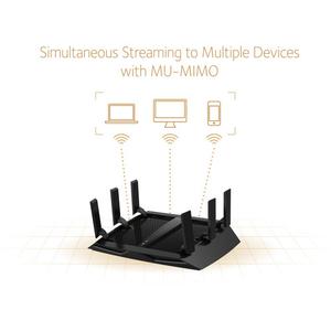 Bộ phát wifi Netgear R8000P Nighthawk X6S AC4000 Wireless Tri-Band Gigabit Router