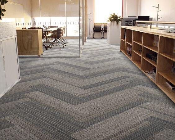 Thảm trải sảnsử dụng trải văn phòng tạo nét khác biệt, ấm cúng cho phòng làm việc