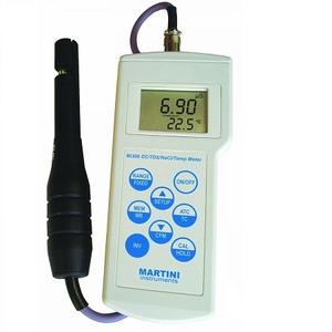 MÁY ĐO pH/EC/TDS/NHIỆT ĐỘ CẦM TAY ĐIỆN TỬ HIỆN SỐ Model Mi 806 – Hãng sản xuất: MARTINI – Rumani