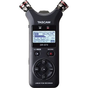 Máy ghi âm Tascam DR-07X 2-Input / 2-Track Portable Audio Recorder with Onboard Adjustable Stereo Mi