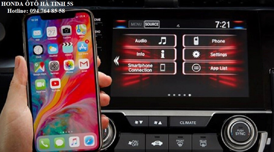 Honda Civic nhập khẩu mới - Honda Ôtô Hà Tĩnh 5S - Hotline: 0947648558 - Hình 17