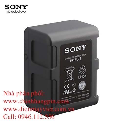 Pin (battery) máy quay Sony BP-FL75 Olivine V Mount chính hãng original