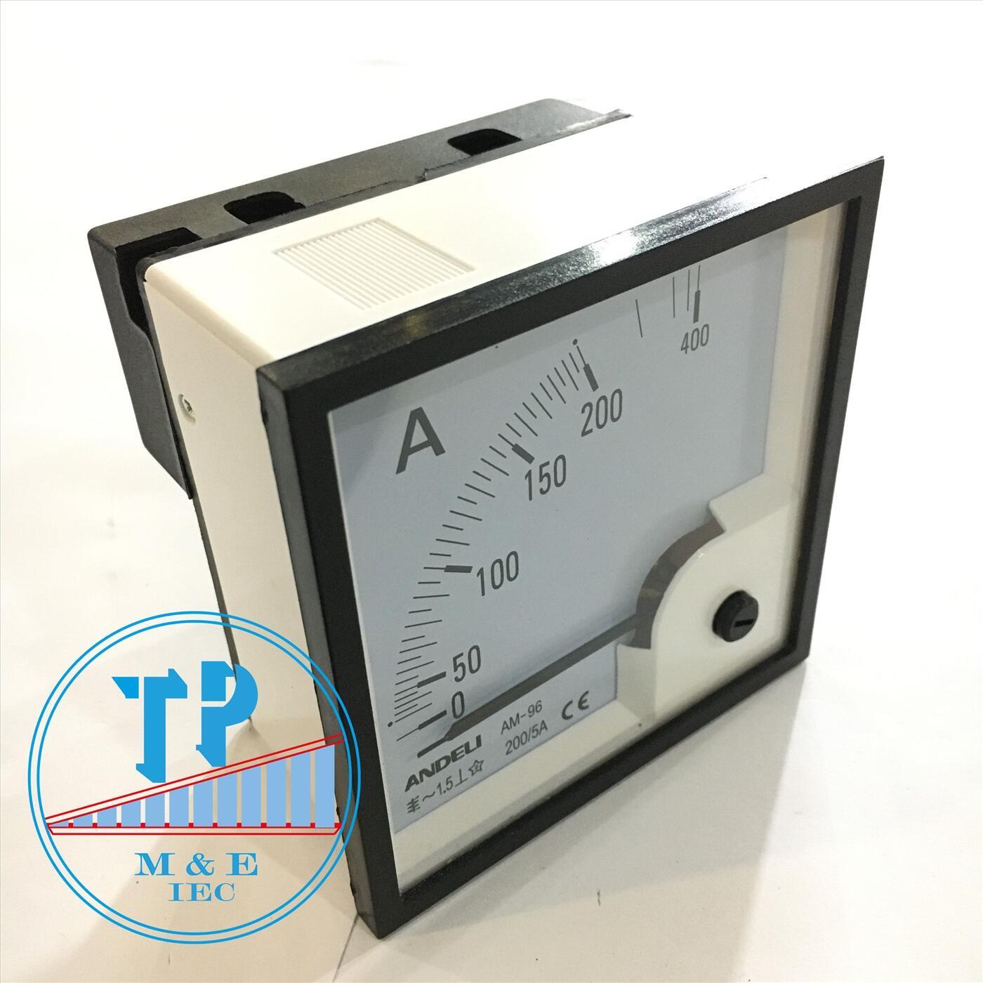 Đồng hồ Ampe 200/5A
