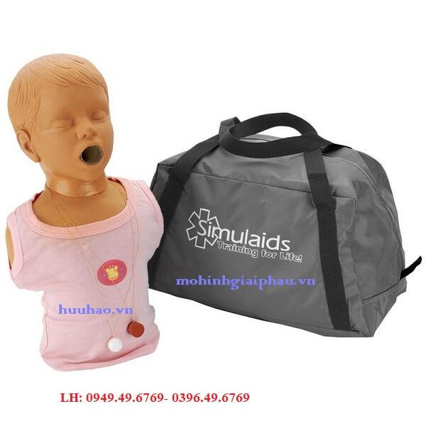 Mô hình cấp cứu lấy dị vật đường thở trẻ em