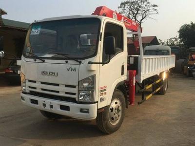Xe tải ISUZU VM FN129 gắn cẩu unic 5 tấn euro 4