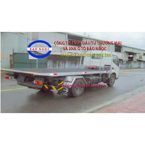 Xe cứu hộ giao thông hino XZU650L sàn trượt chở xe