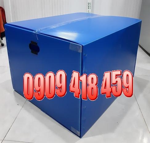 Thùng nhựa PP 600x500x400