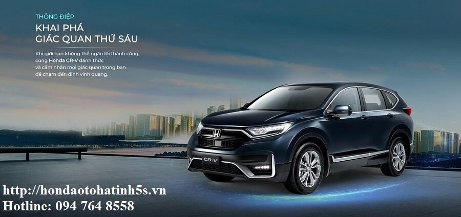 Honda CRV mới - Honda Ôtô Hà Tĩnh 5S - Hình 2