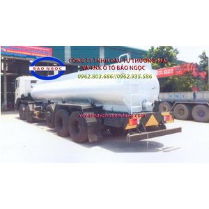 Xe bồn hyundai hd360 chở 14 lít axít H2SO4