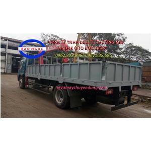 Xe tải thaco ollin 900B gắn cẩu unic URV343