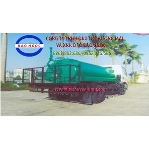Xe téc nước 3 khối HINO WU342L phun tưới cây rửa đường