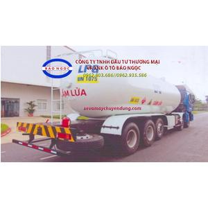 Xe bồn 5 chân thaco auman C340 chở 30 khối khí LPG