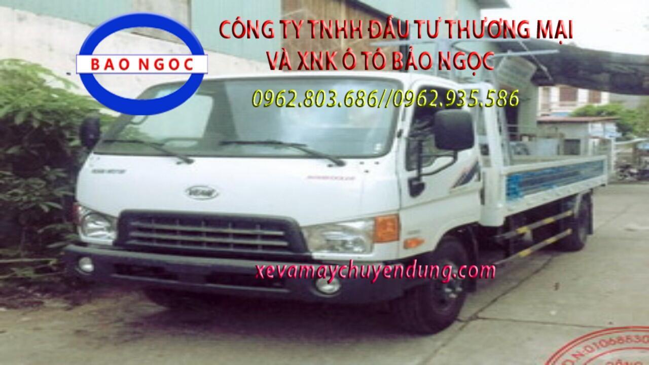 Xe chở kính hyundai HD800