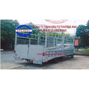 Xe HINO FC thùng 2 tầng chở ô tô