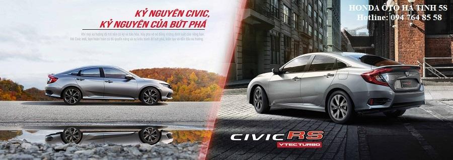 Honda Civic nhập khẩu mới - Honda Ôtô Hà Tĩnh 5S - Hotline: 0947648558 - Hình 20
