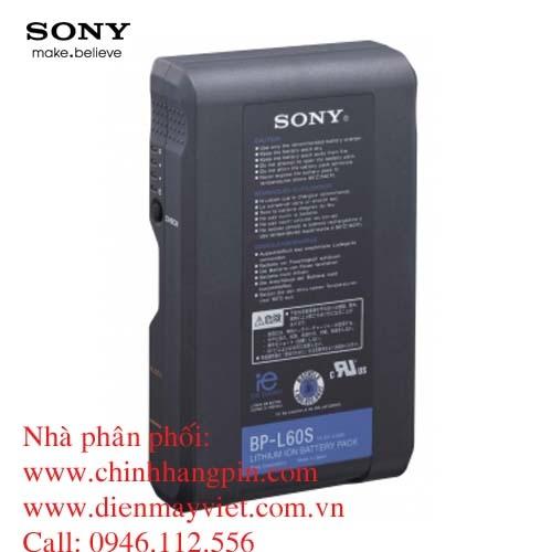 Pin (battery) máy quay Sony BP-L60S Lithium-Ion chính hãng original