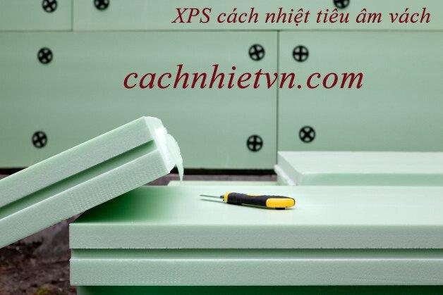 XPS tấm xốp xanh đỗ sàn ,trần Bê tông cách nhiệt tiêu âm