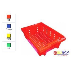 Thùng nhựa hở HS002 - SH