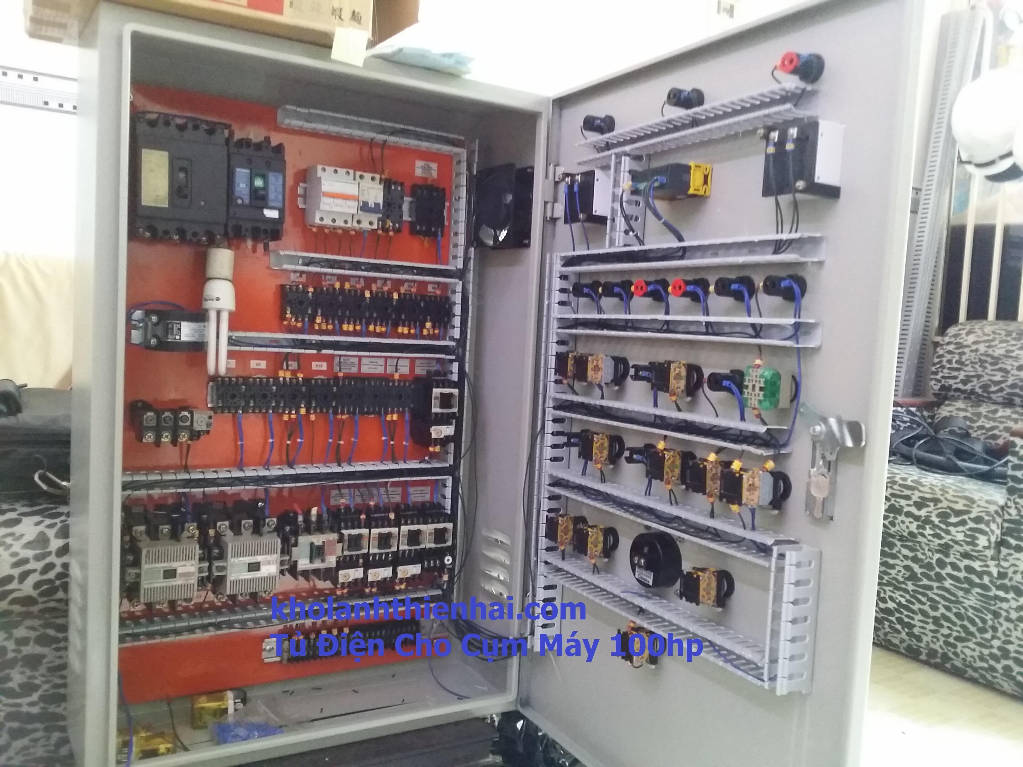 tt1 Tủ điện cho kho lạnh