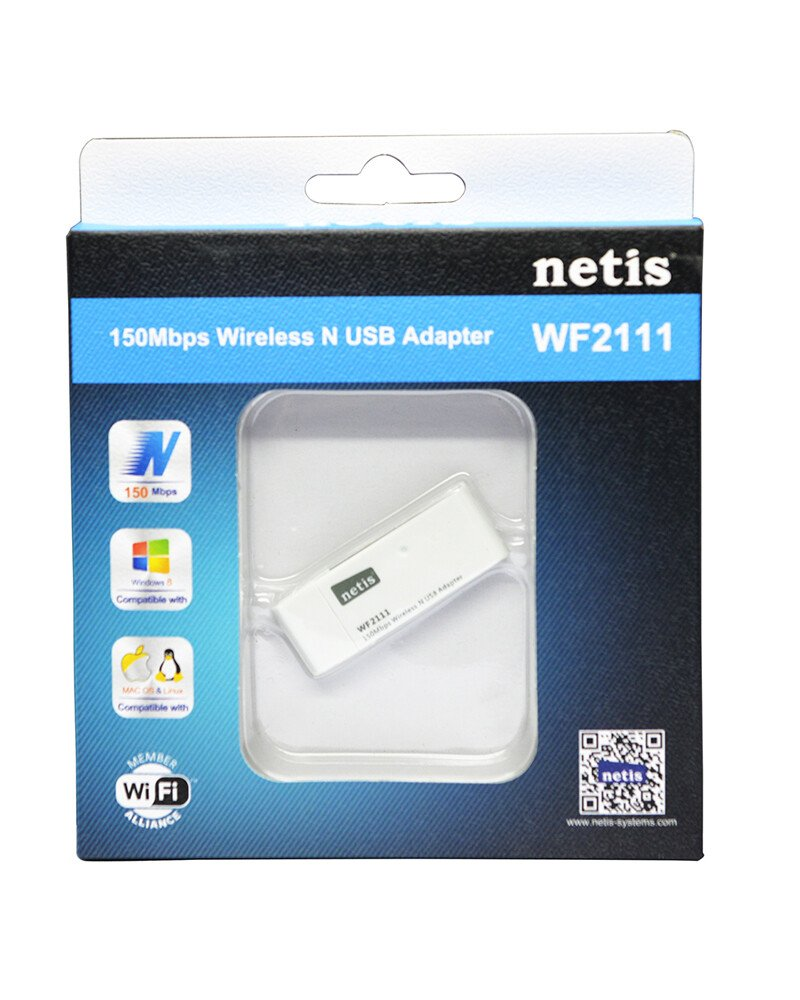 BỘ THU WIFI USB NETIS WF-2111 150MBPS WIRELESS GIÁ RẺ NHẤT ĐÀ NẴNG