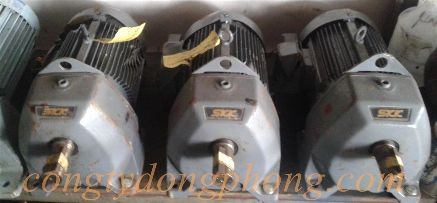 Motor giảm tốc Nhật cũ SKK 2hp 1/20