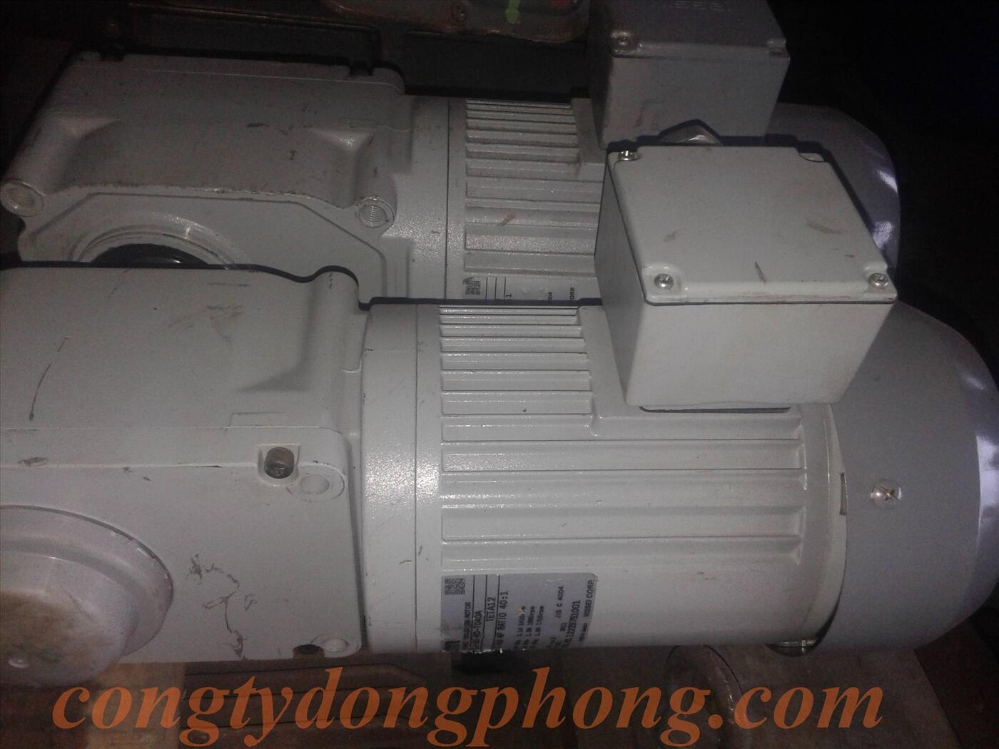 Motor giảm tốc cốt âm GTR 0.4kw 1/40