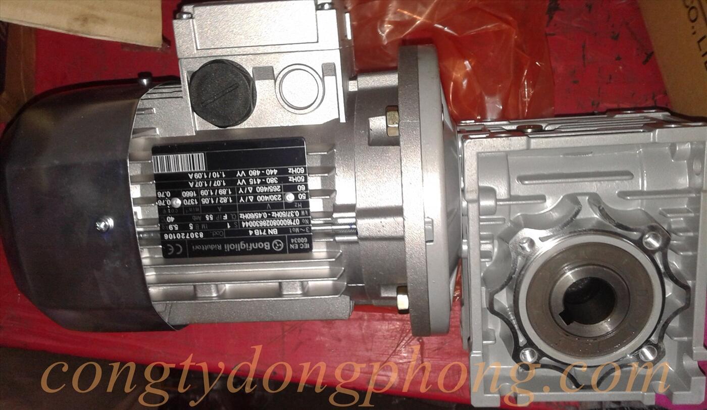 Motor giảm tốc cốt âm MCN