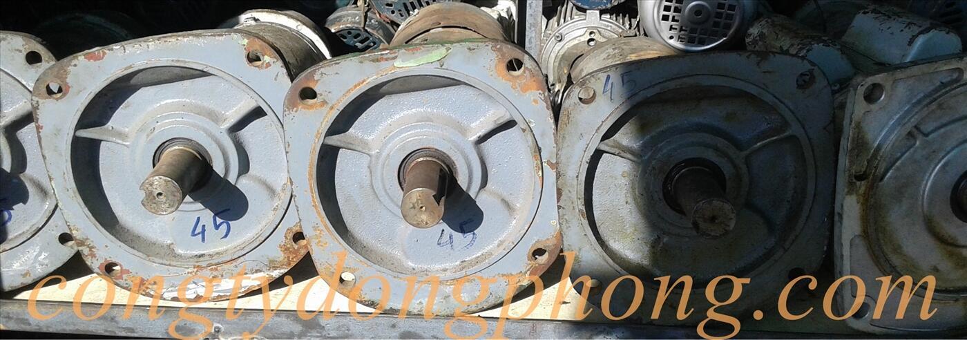 Motor giảm tốc mặt bích nhật cũ