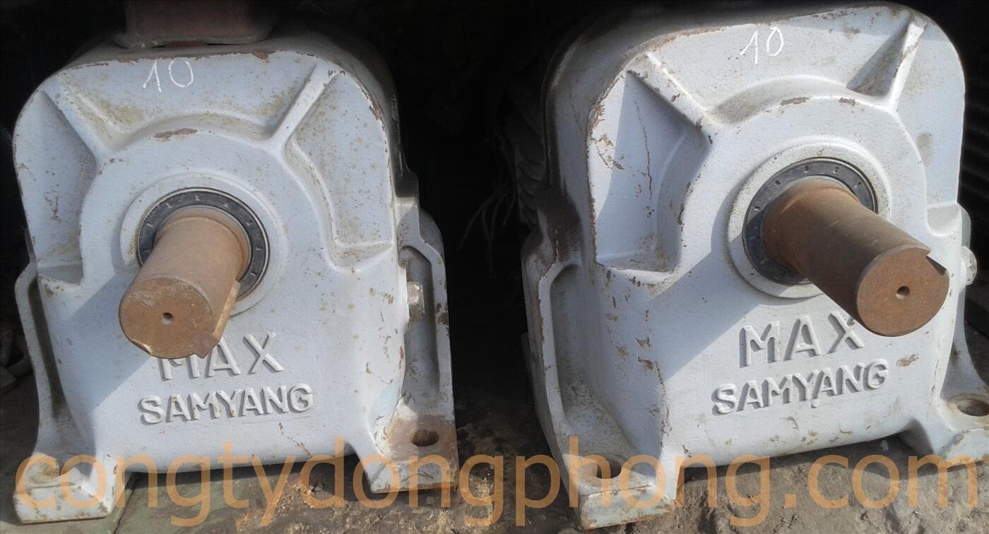 Motor giảm tốc Samyang cũ