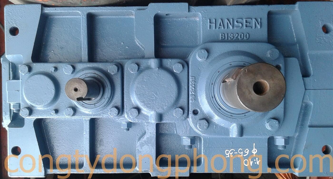 Hộp giảm tốc hai cấp Hansen Nhật cũ