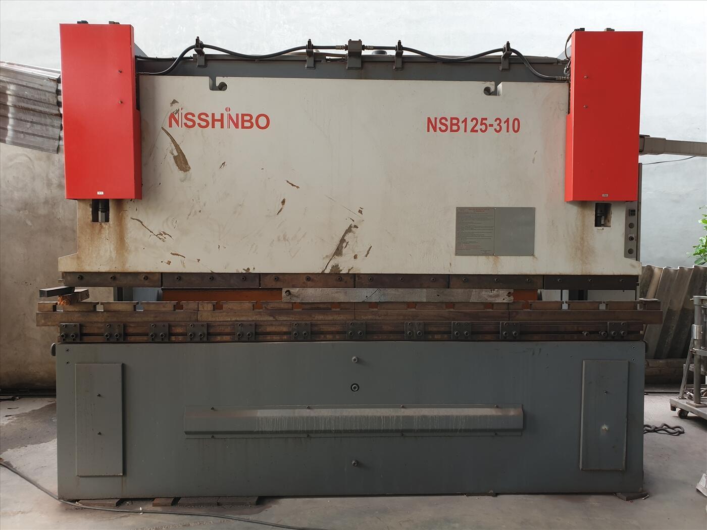 Máy chấn tôn Nisshinbo NSB 125-3100