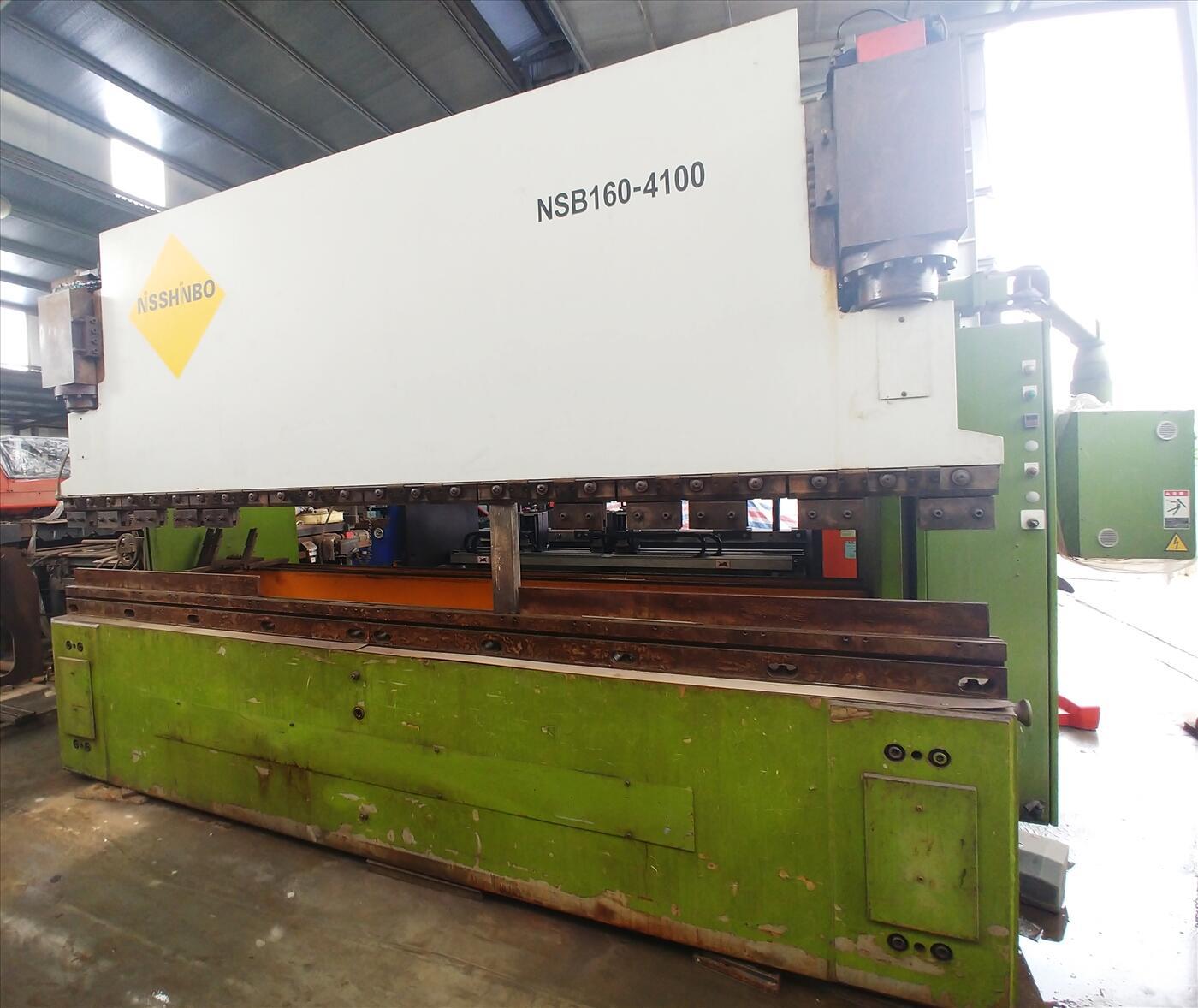 Máy chấn tôn Nisshinbo NSB 160-4100