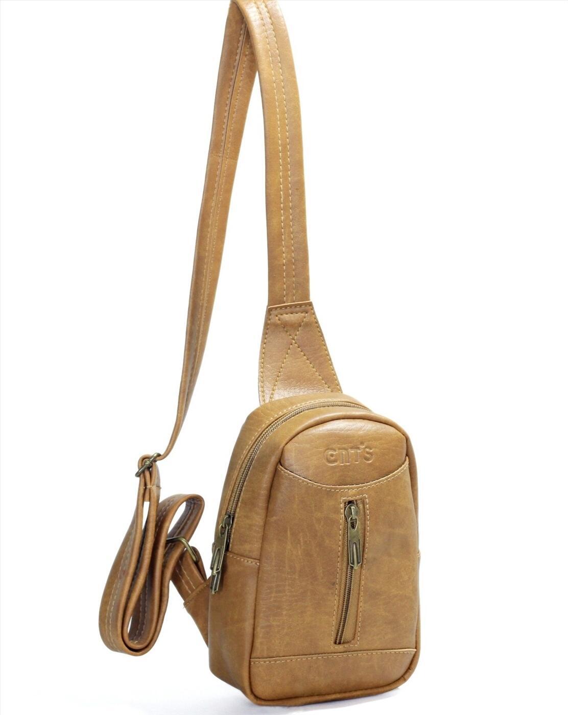 Túi đeo chéo unisex CNT MQ22 cá tính Bò Lợt