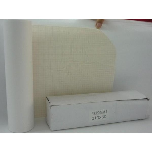 Giấy điện tim Nihon Koden RQS 210-3 (210x30)