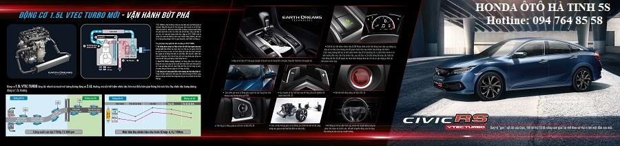 Honda Civic nhập khẩu mới - Honda Ôtô Hà Tĩnh 5S - Hotline: 0947648558 - Hình 22