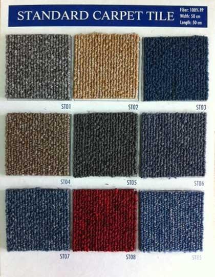 Thảm gạch Standard carpet